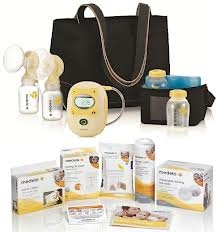 The Medela Freestyle Hands Free Breast Pump With Free Bundle Set